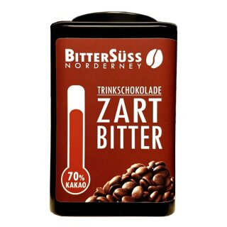 SchoKUHlade Zartbitter Drops 70% - Dose 250g